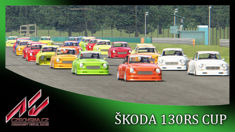 1.Test Race Škoda 130RS CUP 1981