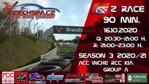 2. Race World Challenge Europe RCC Kia Serie A BrandsHatch