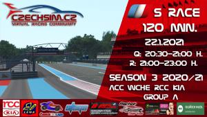 5. Race World Challenge Europe RCC Kia Serie A Paul Ricard