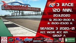 3. Race World Challenge Europe RCC Kia Serie A Silverstone