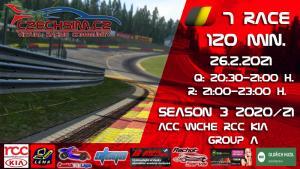 7. Race World Challenge Europe RCC Kia Serie A Spa