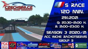 5. Race World Challenge Europe Rachotservis Serie B Paul Ricard