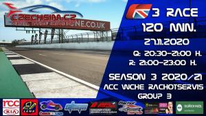 3. Race World Challenge Europe Rachotservis Serie B Silverstone