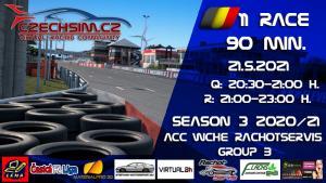 11. Race World Challenge Europe Rachotservis Serie B Zolder